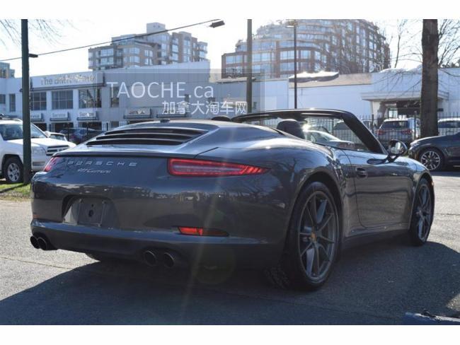 温哥华 车行认证车 保时捷 Porsche 911 2014