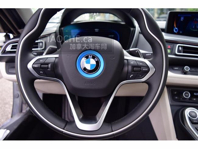 温哥华 车行DEMO车 宝马 BMW i8 2017