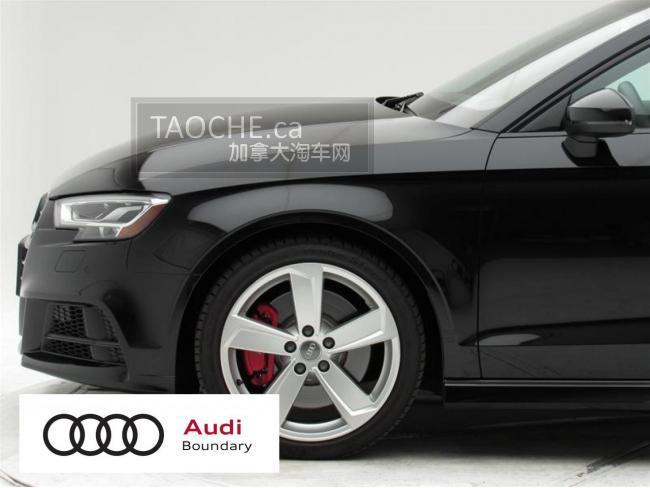 本拿比 车行DEMO车 奥迪 Audi S3 2018