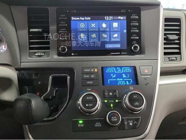 满地宝 车行DEMO车 丰田 Toyota Sienna 2018