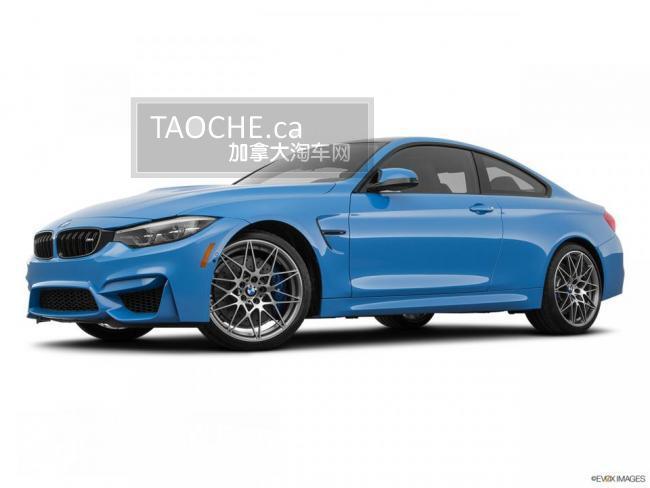 温哥华 车行DEMO车 宝马 BMW M4 2020
