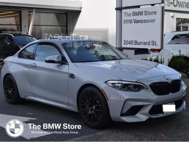 温哥华 车行DEMO车 宝马 BMW M2 2020