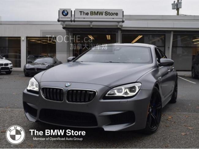 温哥华 车行DEMO车 宝马 BMW M6 2019